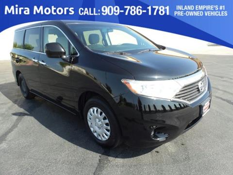 2012 Nissan Quest for sale in Ontario, CA