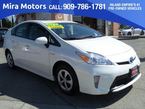 2014 Toyota Prius for sale in Ontario, CA