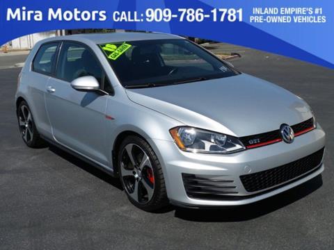2015 Volkswagen Golf GTI for sale in Ontario, CA
