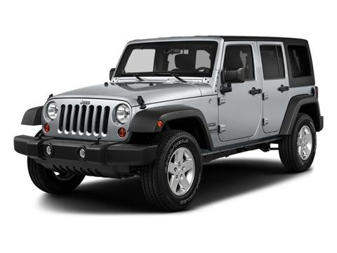 2017 Jeep Wrangler Unlimited for sale in Ontario, CA