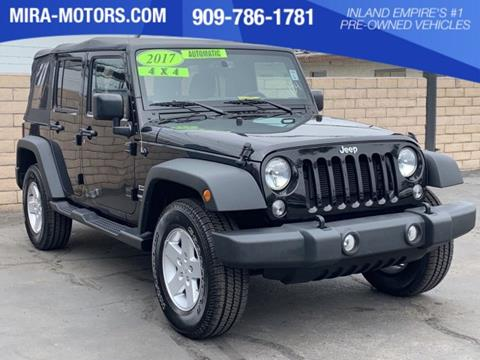 Jeep Wrangler For Sale Ontario >> Used Jeep Wrangler For Sale In Ontario Ca Carsforsale Com