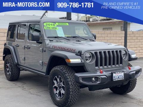 Jeep Wrangler For Sale Ontario >> 2018 Jeep Wrangler Unlimited For Sale In Ontario Ca
