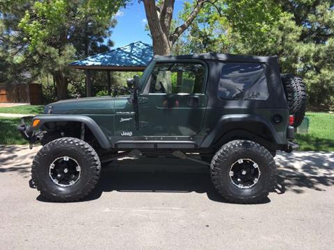 2002 Jeep Wrangler for sale in Sheridan, CO