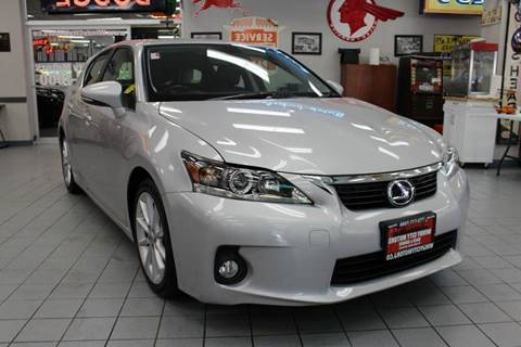 2012 Lexus CT 200h for sale in Chicago, IL
