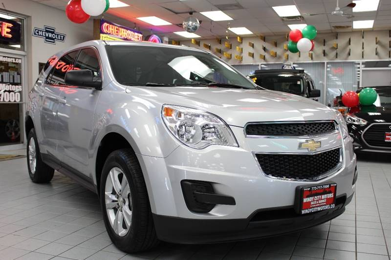2015 Chevrolet Equinox Awd Ls 4dr Suv In Chicago Il
