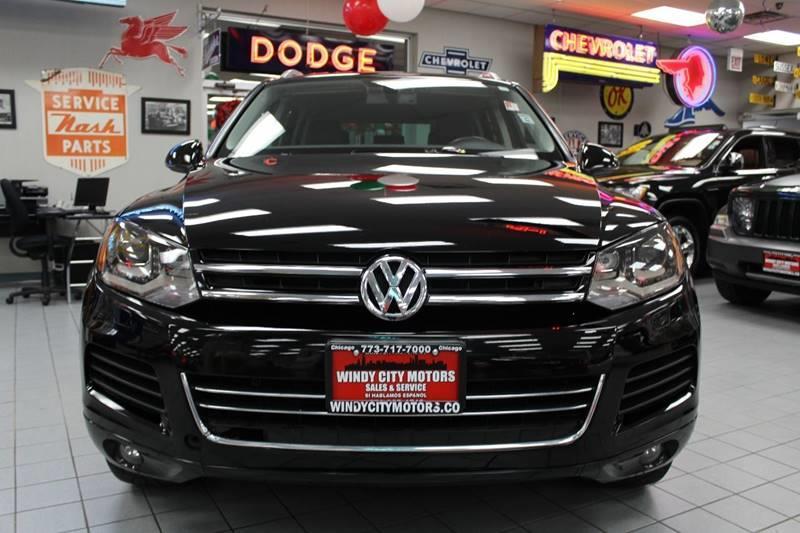 2013 Volkswagen Touareg Awd Vr6 Sport 4dr Suv In Chicago