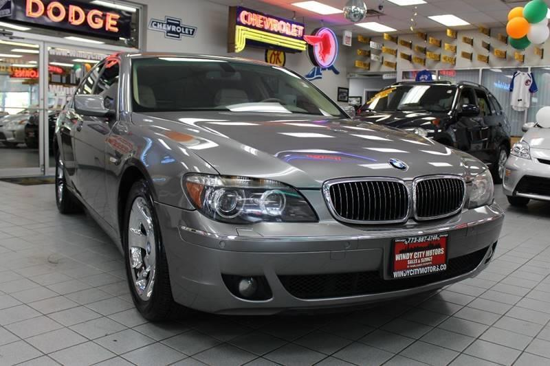 2006 Bmw 7 Series 750i 4dr Sedan In Chicago Il Windy City Motors