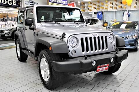 2015 Jeep Wrangler for sale in Chicago, IL