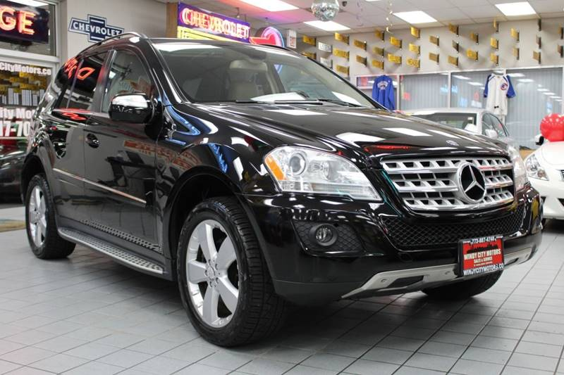 2010 Mercedes Benz M Class Awd Ml 350 4matic 4dr Suv In Chicago Il