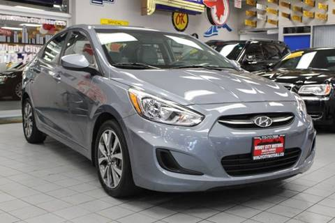 2017 Hyundai Accent for sale at Windy City Motors in Chicago IL