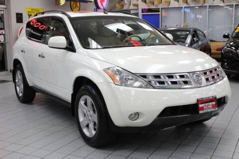 2004 Nissan Murano for sale at Windy City Motors in Chicago IL