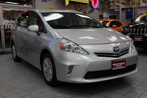 2014 Toyota Prius v for sale at Windy City Motors in Chicago IL