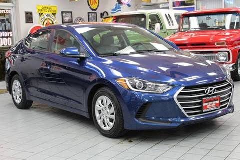 2017 Hyundai Elantra for sale at Windy City Motors in Chicago IL