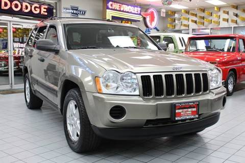 2005 Jeep Grand Cherokee for sale at Windy City Motors in Chicago IL