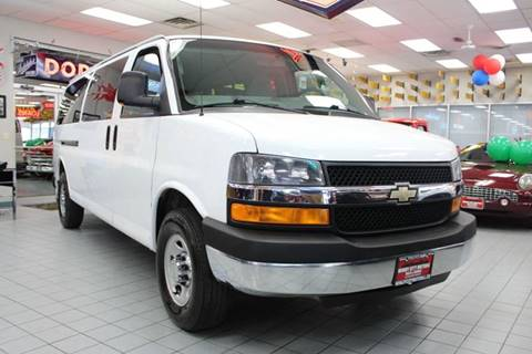 2013 Chevrolet Express Passenger for sale at Windy City Motors in Chicago IL
