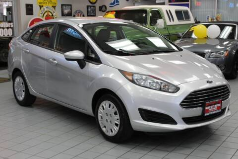 2015 Ford Fiesta for sale at Windy City Motors in Chicago IL
