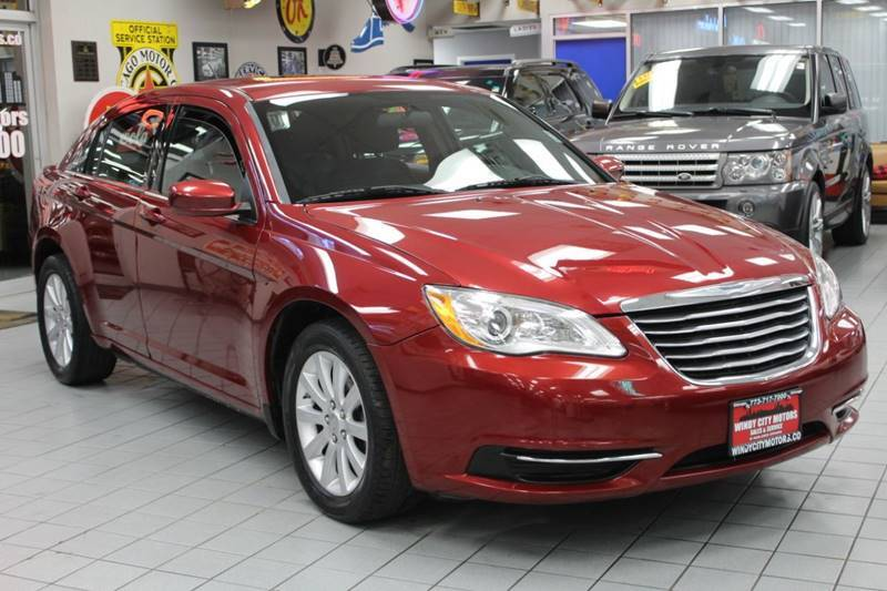 2012 Chrysler 200 for sale at Windy City Motors in Chicago IL