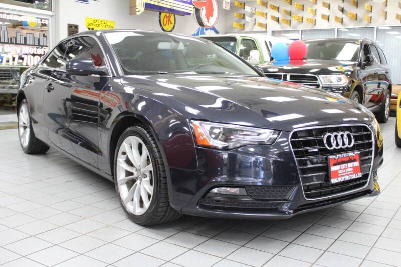 2014 Audi A5 for sale at Windy City Motors in Chicago IL