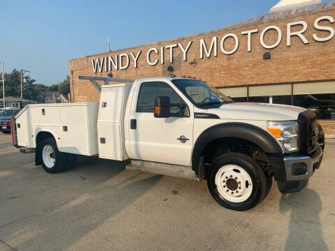 2012 Ford F-550 Super Duty for sale at Windy City Motors in Chicago IL