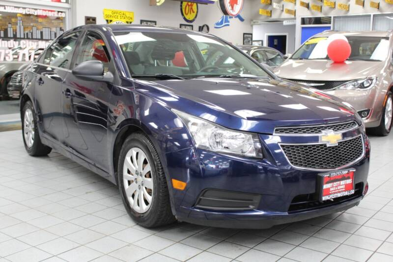 2011 Chevrolet Cruze for sale at Windy City Motors in Chicago IL