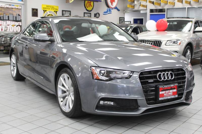 2015 Audi A5 for sale at Windy City Motors in Chicago IL