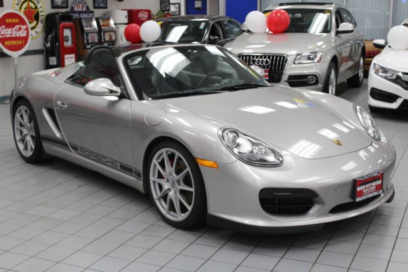 2011 Porsche Boxster for sale at Windy City Motors in Chicago IL