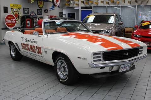 1969 Chevrolet Camaro for sale at Windy City Motors in Chicago IL