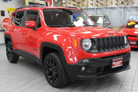 2017 Jeep Renegade for sale at Windy City Motors in Chicago IL