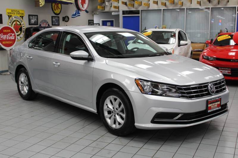 2016 Volkswagen Passat for sale at Windy City Motors in Chicago IL