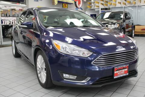 2016 Ford Focus for sale at Windy City Motors in Chicago IL