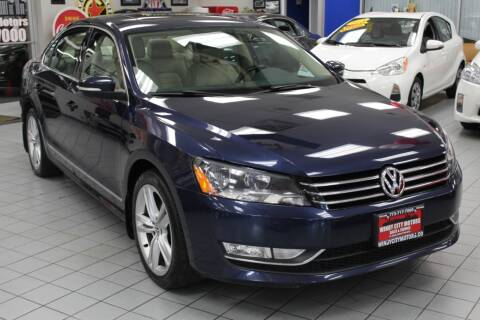 2015 Volkswagen Passat for sale at Windy City Motors in Chicago IL