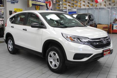 2015 Honda CR-V for sale at Windy City Motors in Chicago IL