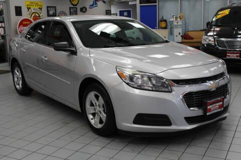 2015 Chevrolet Malibu for sale at Windy City Motors in Chicago IL