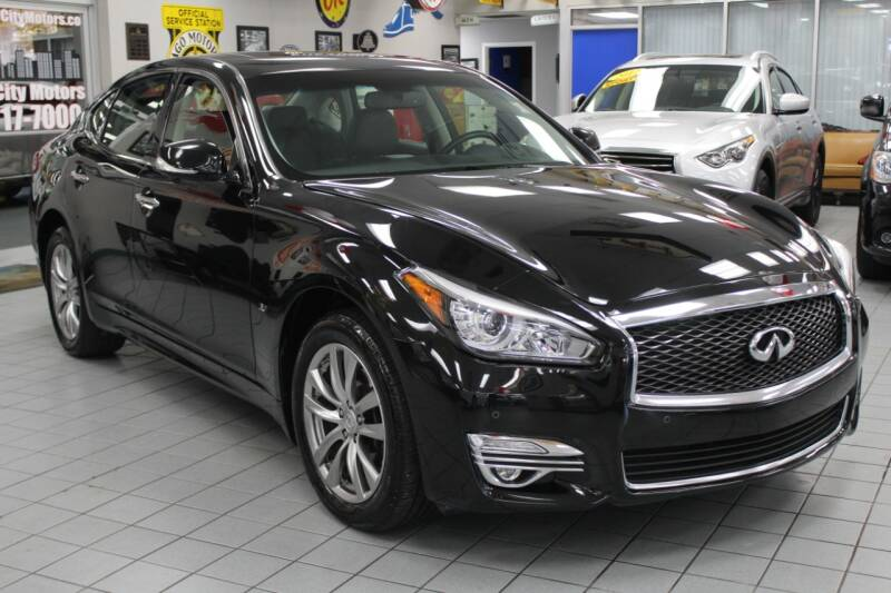 2016 Infiniti Q70 for sale at Windy City Motors in Chicago IL