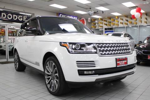 2016 Land Rover Range Rover for sale at Windy City Motors in Chicago IL