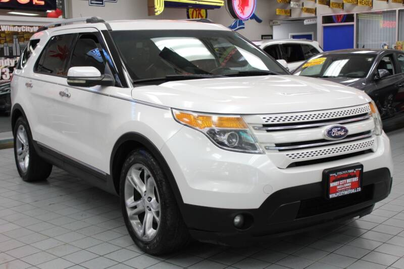 2012 Ford Explorer for sale at Windy City Motors in Chicago IL