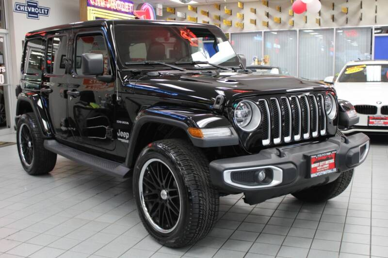 2019 Jeep Wrangler Unlimited for sale at Windy City Motors in Chicago IL