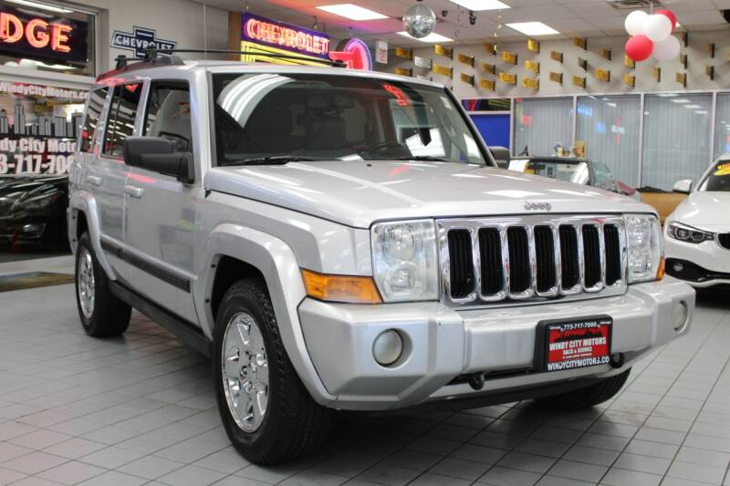 2007 Jeep Commander for sale at Windy City Motors in Chicago IL