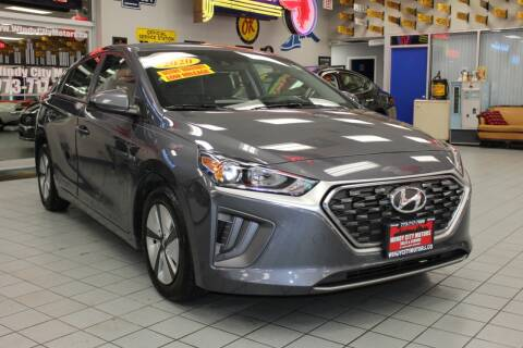 2020 Hyundai Ioniq Hybrid for sale at Windy City Motors in Chicago IL
