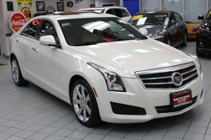 2013 Cadillac ATS for sale at Windy City Motors in Chicago IL