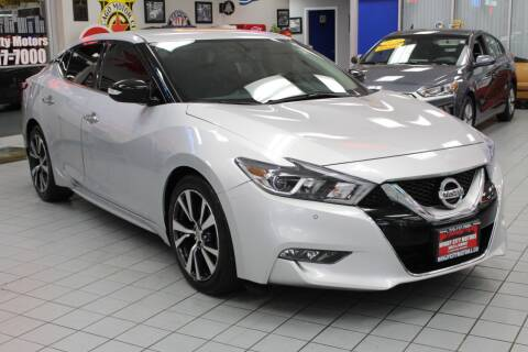 2017 Nissan Maxima for sale at Windy City Motors in Chicago IL