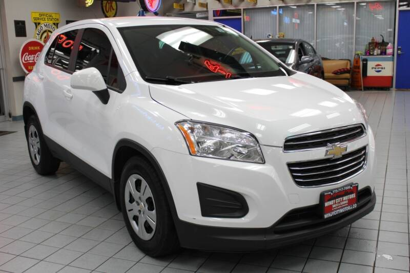 2016 Chevrolet Trax for sale at Windy City Motors in Chicago IL