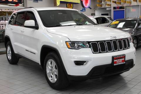 2017 Jeep Grand Cherokee for sale at Windy City Motors in Chicago IL