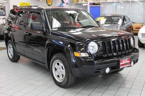 2017 Jeep Patriot for sale at Windy City Motors in Chicago IL