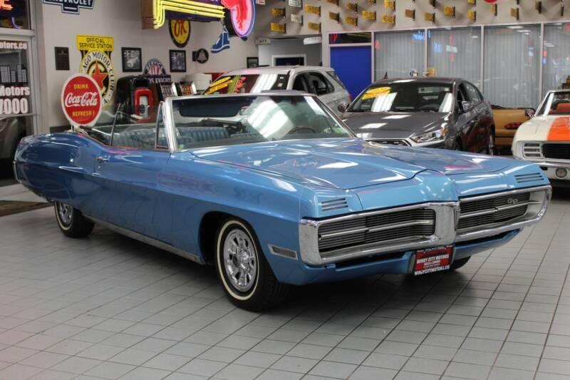 1967 Pontiac Grand Prix for sale at Windy City Motors in Chicago IL