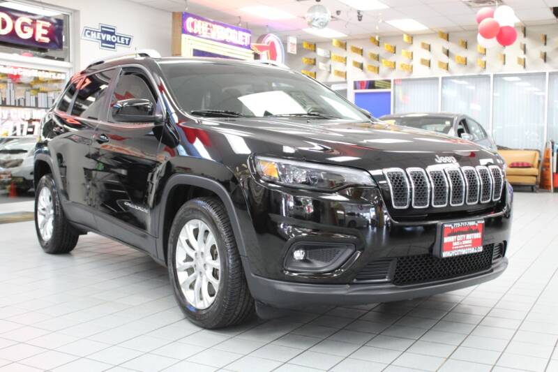 2019 Jeep Cherokee for sale at Windy City Motors in Chicago IL