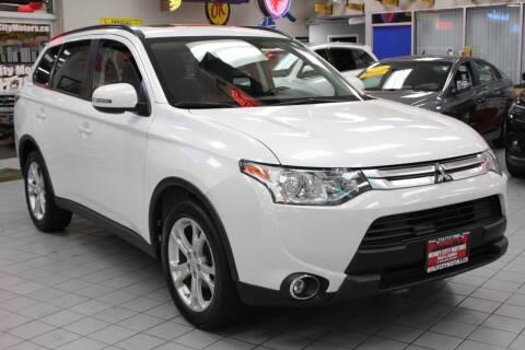 2015 Mitsubishi Outlander for sale at Windy City Motors in Chicago IL