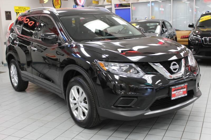 2016 Nissan Rogue for sale at Windy City Motors in Chicago IL