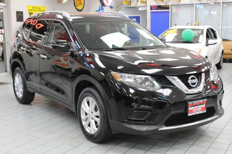 2015 Nissan Rogue for sale at Windy City Motors in Chicago IL