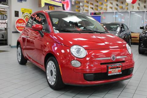 2012 FIAT 500 for sale at Windy City Motors in Chicago IL